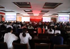 播州区中医院开展2020年秋冬季新冠肺炎防控知识培训