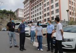 播州区人民政府副区长袁茜一行到我院调研指导工作